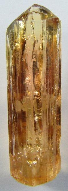 Topaz ( Aluminum silicate fluoride hydroxide)
