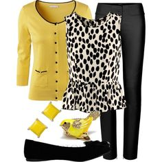 Love this deep/ mustard yellow colour and the top adds interest Xx