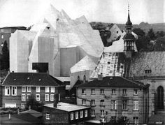 Pilgrimage Church, Neviges, Germany, 1965-68  (Gottfried Böhm)
