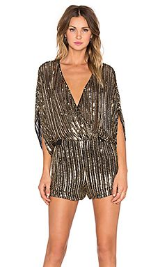 Shop for Parker Kimora Sequin Romper in Antique Gold at REVOLVE. Free 2-3 day shipping and returns, 30 day price match guarantee.