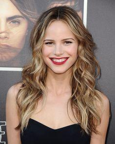 Get the Look: Halston Sage's Crimson Lip | Beauty Blitz