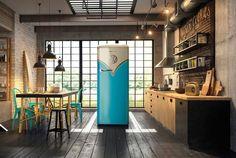 Freestanding refrigerator OBRB153BL - Gorenje