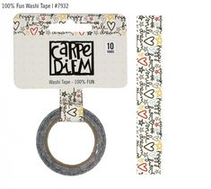 Carpe Diem Say Cheese III Washi Tape - FUN