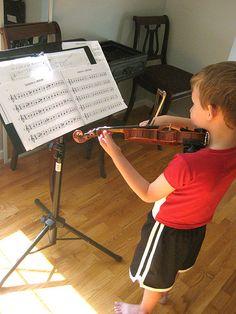 Teaching violin ideas