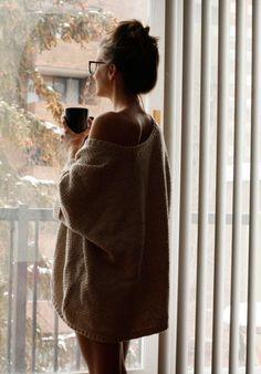 big warm pullover