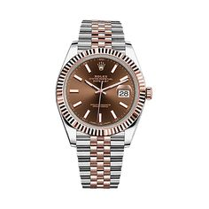 #Rolex Datejust Rose Gold & Stainless Steel #Watch