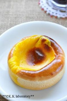 「冷やして美味しい!マンゴープリンパン」nonnon | お菓子・パンのレシピや作り方【corecle*コレクル】