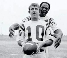 Allen Page and Fran Tarkenton