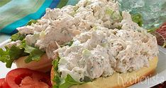 It's easy to make and kids love it too—try one of these chicken salad recipes at the campsite: Cold Chicken Salads, Chicken Salad Recipes, Bruchetta Recipe, Panini Sandwiches, Campfire Food, Dutch Recipes, Rabbit Food, High Tea, Food Hacks