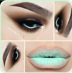 Fall into Spring with a Chocolate Mint Green