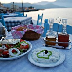 Yum, Greece, Greek food. #KSadventure #KendraScott