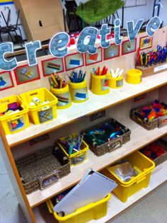 put a piece of card up to put photos on behind the cups in my trolley. Year 1 Classroom, Early Years Classroom, Classroom Layout, Classroom Organisation, Classroom Setting, Classroom Design, Preschool Classroom, Classroom Activities, Kindergarten