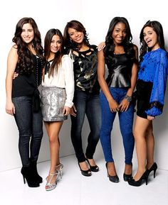 """Fifth Harmony is an American girl group made up of five girls named Dinah Jane Hansen, Camila Cabello, Lauren Jauregui, Normani Hamilton and Ally Brooke. The band was formed in 2012 and signed to both Syco Records and Epic Records. Their first single is called """"Miss Movin' On"""" and their first album will be released soon!"""