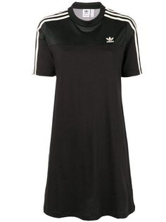 Adidas T-shirt dress - Black Casual T Shirts, Casual Outfits, Fashion Outfits, Looks Adidas, Comfy Dresses, Types Of Fashion Styles, Short Sleeve Dresses, Menswear, Shirt Dress