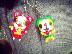 Key chain yokai watch.jibanya