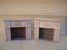 Fireplace aged, sold alone, without the photo, measures 8 plug-ins 3 cm x 28 cm x 7 cm   The delivery excluded is certified