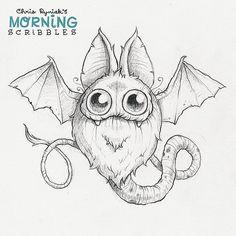 Batsnake #morningscribbles | by CHRIS RYNIAK