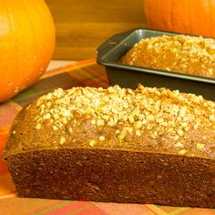 This pumpkin loaf is very easy to make and would make a tasty afternoon snack. Pumpkin Loaf Recipe from Grandmothers Kitchen.