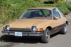 The AMC Pacer.....the Seeliger sisters in high school had a baby blue Pacer.
