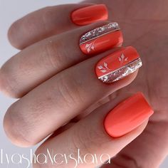 Gelish Nails, Pink Nails, Nails Only, Latest Nail Art, Spring Nail Art, Fall Nail Designs, Nail Arts, Short Nails, Nails Inspiration