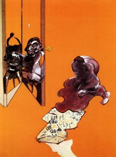 francis bacon >> studies from the human body, 1970 (c)  |  (Oil, artwork, reproduction, copy, painting).