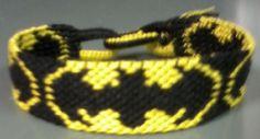 BATMAN friendship bracelet