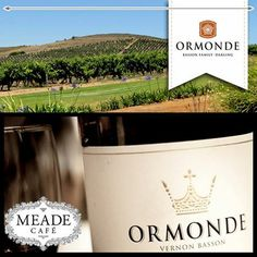 Meade Cafe presents the Ormonde Wine Tasting on Wednesday 25 June 2014 at 6:30pm. There will be a five course food and wine pairing menu. Booking beforehand is essential. R195 per person. 044 873 6755 #food #wine #meadecafe #Ormonde
