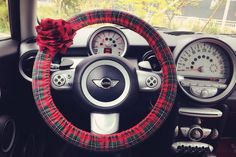 Hey, I found this really awesome Etsy listing at https://www.etsy.com/listing/179153516/car-steering-wheel-cover-red-scottish