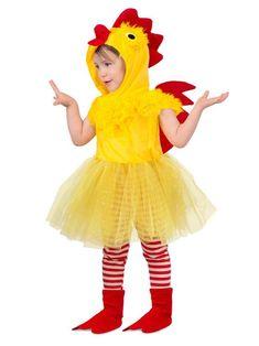 Toddler Princess Chicken Costume