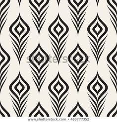 Find Vector Seamless Pattern Stylized Peacock Feather stock images in HD and millions of other royalty-free stock photos, illustrations and vectors in the Shutterstock collection. Geometric Patterns, Geometric Designs, Graphic Patterns, Print Patterns, Stencil Patterns, Stencil Designs, Textile Patterns, Pattern Art, Pattern Design