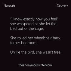 Unlike the bird. #Pretty #Short #Stories