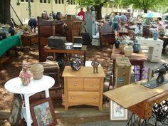 400 Mile Flea Market On Pinterest Flea Markets Yard
