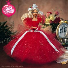 A Look at 25 Years of Holiday Barbie