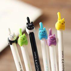 Cute kitten mechanical pencil - 6pcs