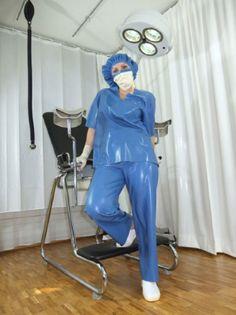 Medical Fetish Shop - Superliquid - Latex Manufacturer Tallinn Nursing Clothes, Nursing Dress, Pretty Outfits, Cool Outfits, Operating Room Nurse, Beautiful Nurse, Latex Pants, Latex Catsuit, Latex Costumes