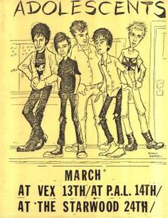 I've always imagined having an punk flyer museum online with thousands of different flyers. Tumblr...