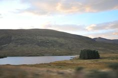 Driving through the Highlands to the Isle of Skye.