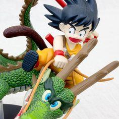 Dragon Ball Z Fantastic Arts Son Gokou on Shenron Figure BANDAI JAPAN ANIME