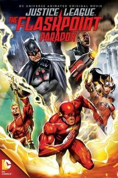 Justice League: The Flashpoint Paradox – DVD cover