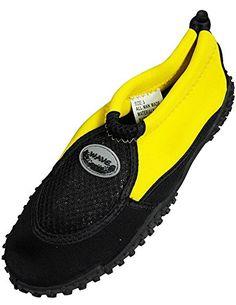 541198c7b8eabf The Wave Ladies Aqua Shoe Yellow Black -- Visit the image link more  details. Women Outdoor Shoes