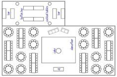 We\'ve Mapped Out The *Perfect* Wedding Reception Layout | Wedding ...