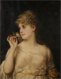 Nathaniel Sichel (1843–1907) - In the Time of Roses