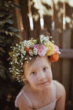 Elsie VonBlanckensee photo by Tessa Cheetham #flowers #flowercrowns #colours #photography #photoshoot #photos #portrait #afternoon #outdoors #nature