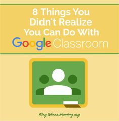 By Shawn Beard Digital Learning has revolutionized the way teachers do business in education. Teachers now have the ability to communicate, plan, and teach more efficiently than ever before. One advancement that has allowed this type of change is Google Classroom.