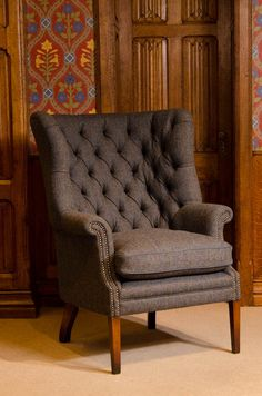 Charming Home Furniture | Accent Chairs | Tetrad | Harris Tweed   MacKenzie Chair    Displayed In