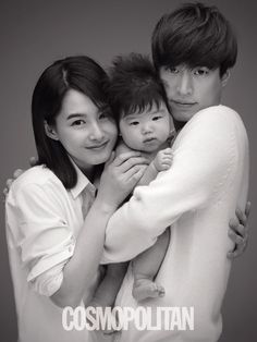 dubumint92:  Tablo with wife and daughter  ^So Ive made a post about this before, but it kinda bothers me, so Im going to make it again. This is not a picture of Haru. This was a photo shoot done with 8 other couples for kids that need to be adopted.Cho Se Hyun (the photographer) started a campaign for babies who are up for adoption.That child that Tablo is holding is a baby that needs to be adopted, not his daughter. The first ever picture of Haru was released through Tablo