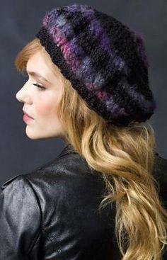 Ravelry  Slouchy Beret pattern by Ellen Gormley Crochet Adult Hat c2a07c165794