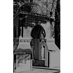 Templet neomudejar al jardi del Bes,Xàtiva