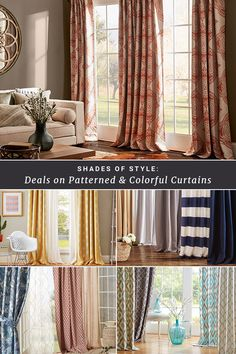 Well-dressed windows provide the perfect finishing touch for any space. Expand your view with curtains in different colors & patterns at jossandmain.com. Sign up to learn more about our exclusive deals, and don't forget – free shipping for all orders over $49!