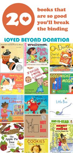 Awesome list of books...my kids love so many of these!!
